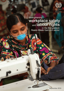 Strengthening workplace safety and labour rights in the