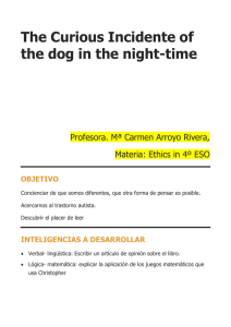 The Curious Incidente of the dog in the night-time
