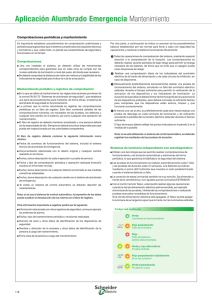 Mantenimiento - Schneider Electric