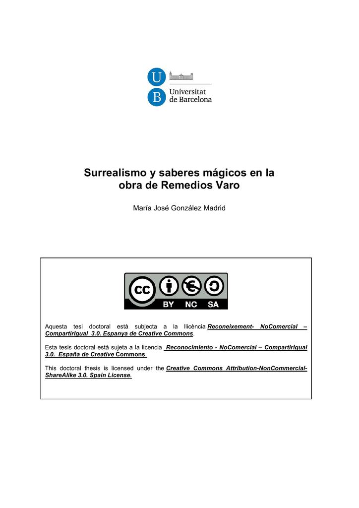 c4d686f9498c Surrealismo y saberes mágicos en la obra de Remedios Varo
