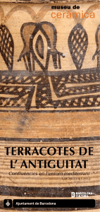 TERRACOTES DE L` ANTIGUITAT
