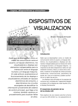 el display LCD - videosistemas
