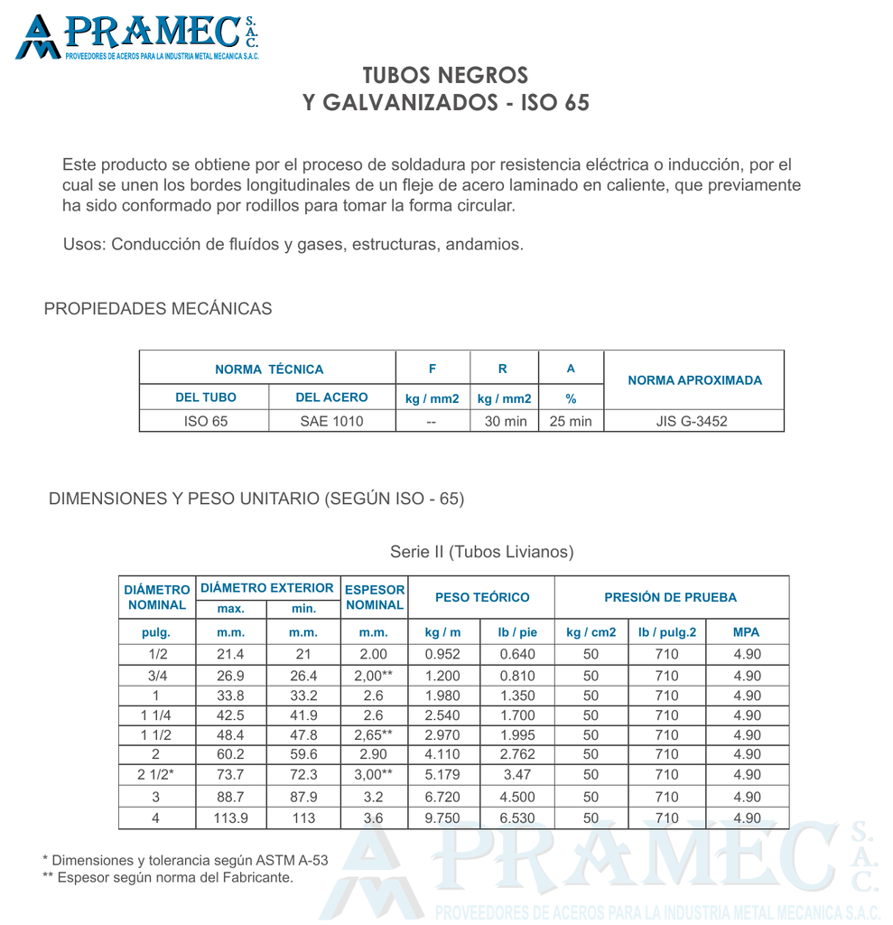 "1-1//2/"" X 10/"" S//40 A53 tubo de acero soldada negra Pezón cumplían /< N2081411 TNP"