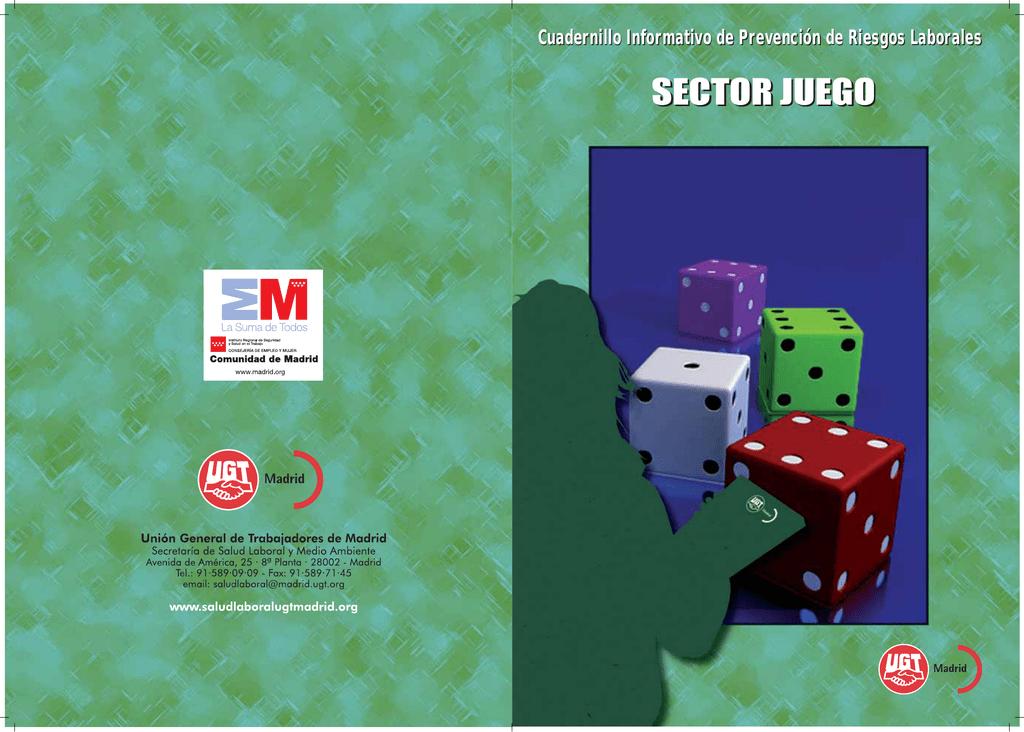 sector juego - Salud Laboral UGT Madrid