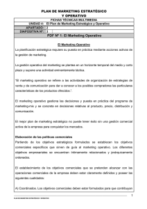 PDF Nº 1: El Marketing Operativo