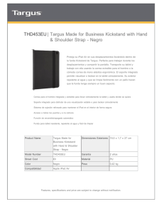 THD453EU| Targus Made for Business Kickstand with