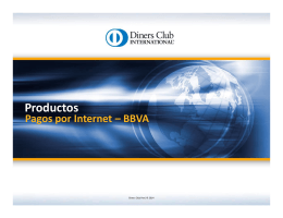 Productos - Diners Club