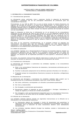 Numeral 9 - Superintendencia Financiera de Colombia