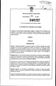 Decreto 0666 de 2007 - Superintendencia Financiera de Colombia