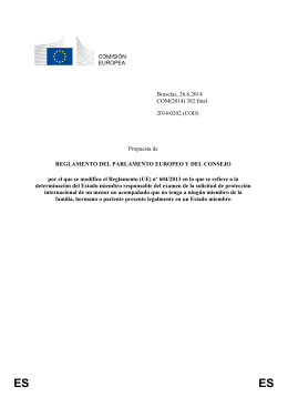 COMISIÓN EUROPEA Bruselas, 26.6.2014 COM(2014) 382 final