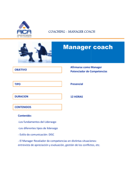 Manager coach Manager coach