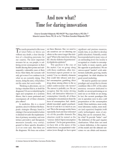 And now what? Time for daring innovation