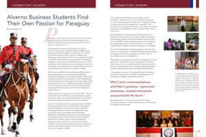 Alverno Business Students Find Their Own Passion for Paraguay
