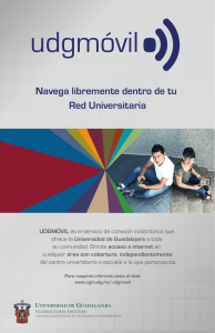 Navega libremente dentro de tu Red Universitaria