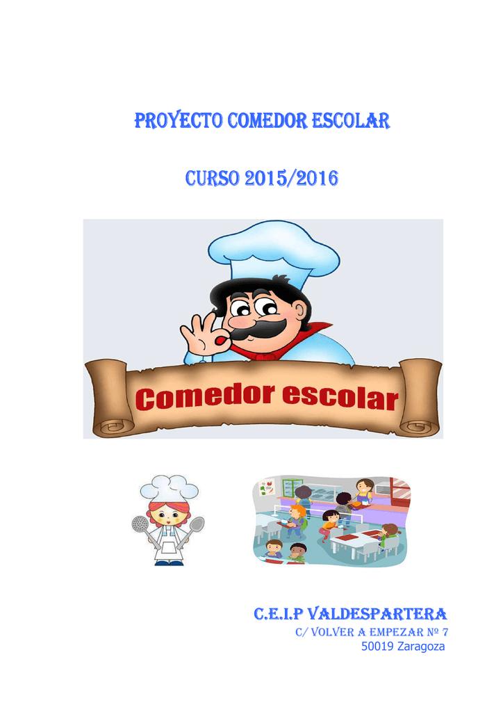Proyecto de comedor 15-16