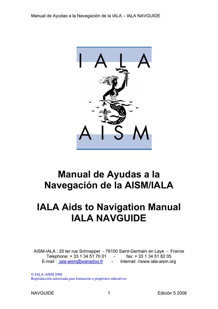bf79934123 Manual de Ayudas a la Navegación de la AISM/IALA IALA Aids to