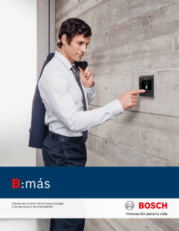B:más - Bosch Security Systems