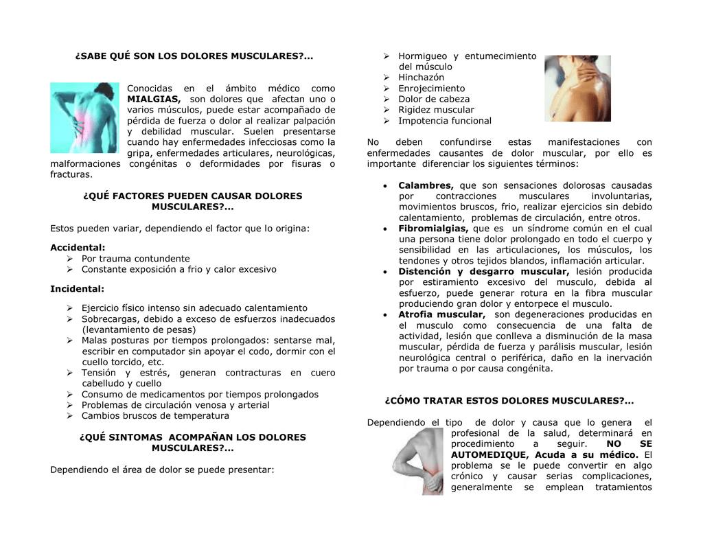 Crónicos debilidad y musculares dolores