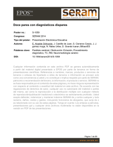 Doce pares con diagnósticos dispares