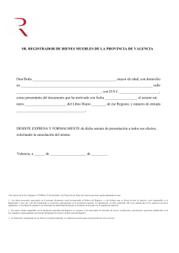 Registro mercantil de pontevedra - Registro mercantil de bienes muebles ...
