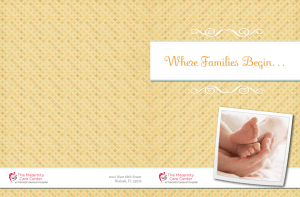 Where Families Begin… - Palmetto General Hospital
