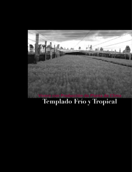 Templado Frío y Tropical