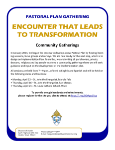 encounter that leads to transformation