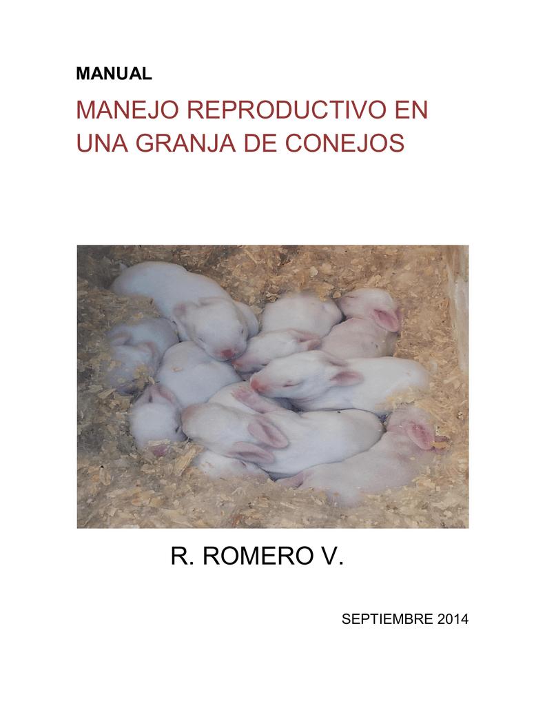 Manual de Manejo Reproductivo en una Granja de Conejos