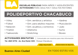 polideportivo chacabuco