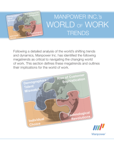 world of work - ManpowerGroup