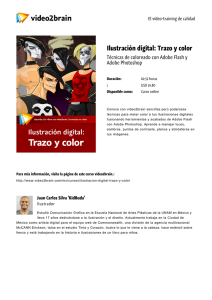 Ilustración digital: Trazo y color
