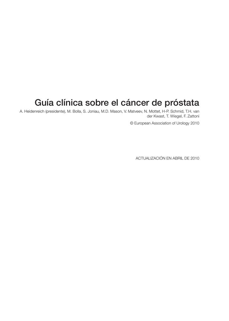 adelecarcinoma de próstata de gleason 4 2 2042