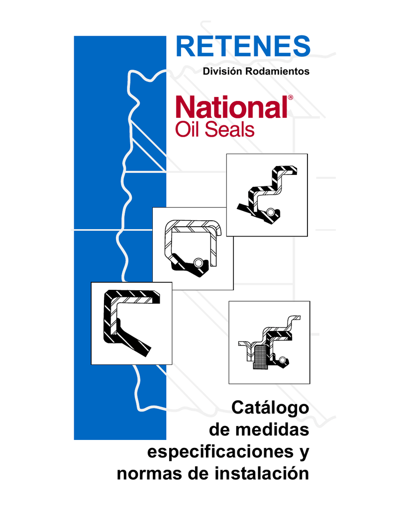 National 240698 Oil Seal