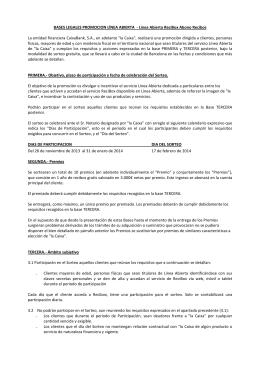 Bases legales l nea abierta libreta proyecto smartwatch for Avenida diagonal 621
