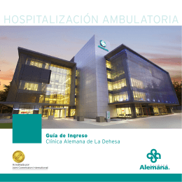 HOSPITALIZACIÓN AMBULATORIA