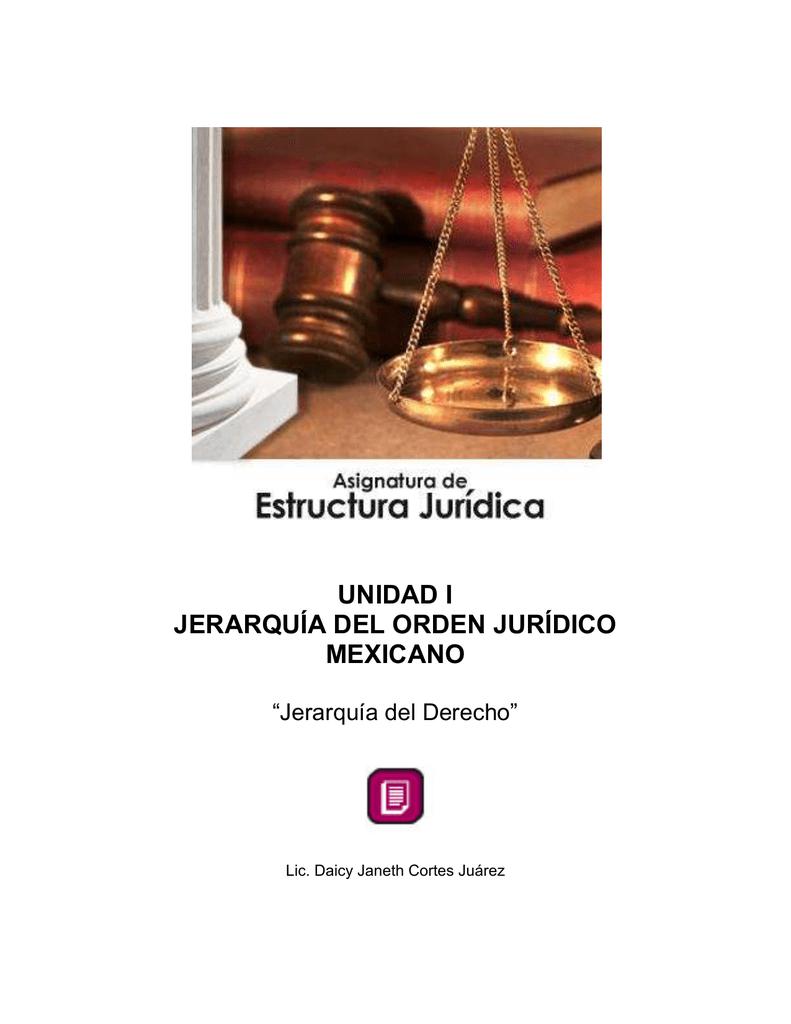 Jerarquía Del Derecho