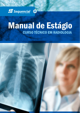 Manual de Estágio - Sequencial ESCOLA TECNICA