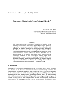 Towards a Rhetoric of Cross-Cultural Identity