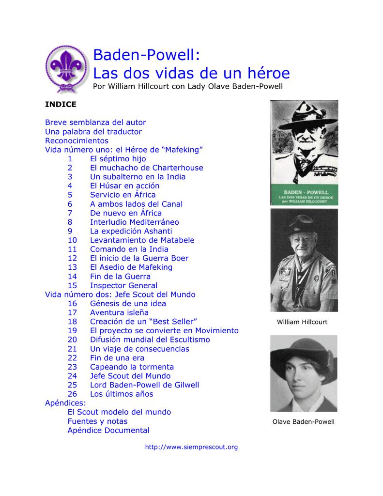 Las Dos Vidas De Un Héroe Asociación De Scouts De Venezuela