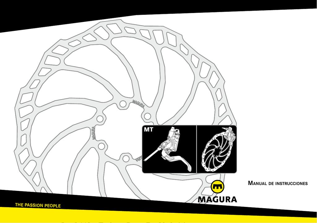 "Magura freno de disco Adaptador qm12 180 mm is 6/"" rueda delantera 160 mm rueda trasera"