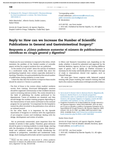Reply to: How can we Increase the Number of Scientific Publications