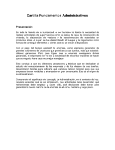 Cartilla Fundamentos Administrativos