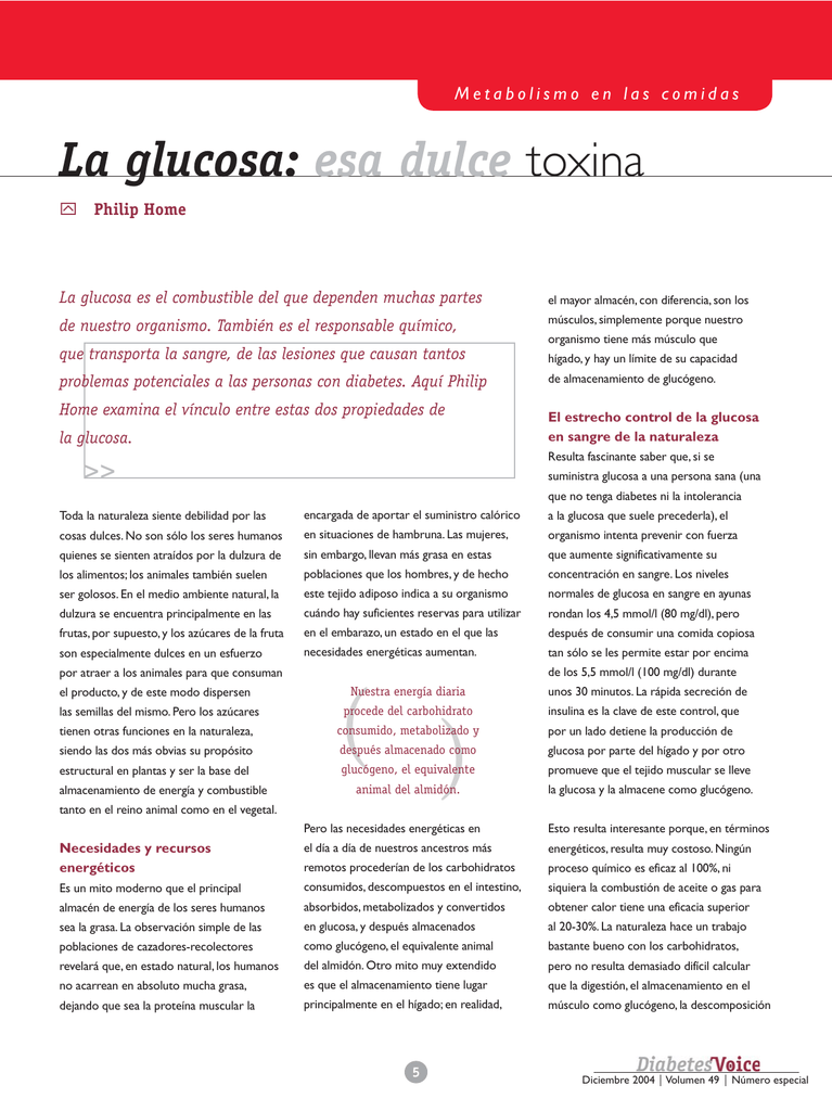 metabolismo de la glucosa del tejido adiposo en la diabetes