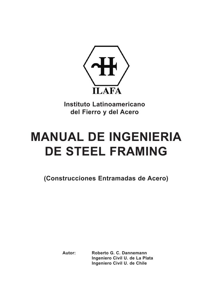 Manual de Ingeniería de Steel Frame (ILAFA)