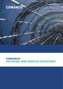 Leaflet: Comarch Network and Service Inventory