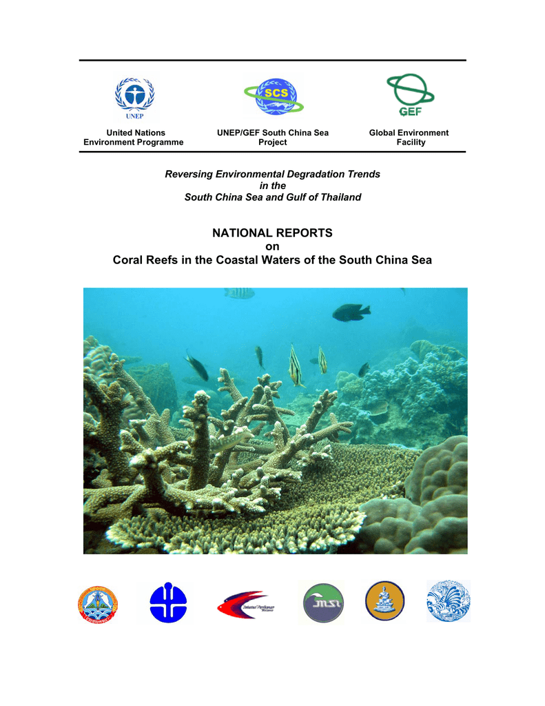 National Reports On Coral Reefs In The Coastal Waters Of The