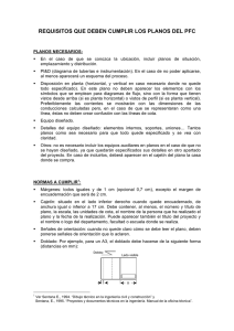 Requisitos planos - Departamento de Ingeniería Química