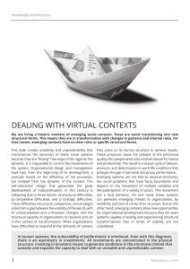 DEALING WITH VIRTUAL CONTEXTS