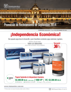 ¡independencia económica!