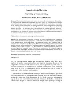 Comunicación de Marketing (Marketing of Communication)